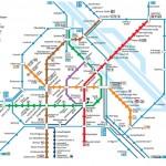 Bécs metro térkép