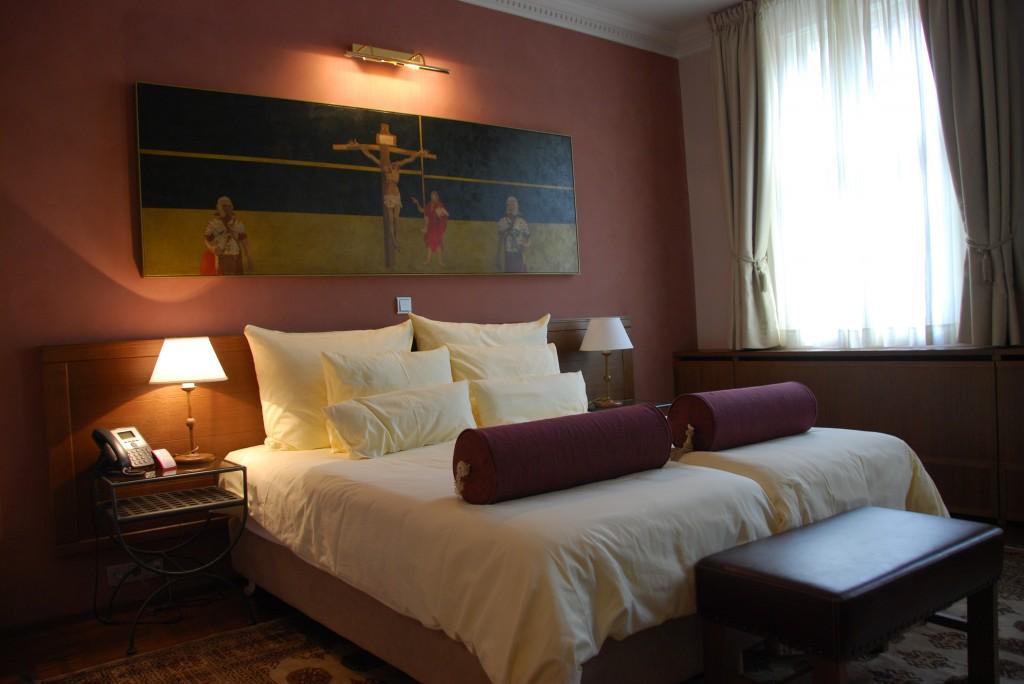 Luxus szálloda szoba Szlovénia