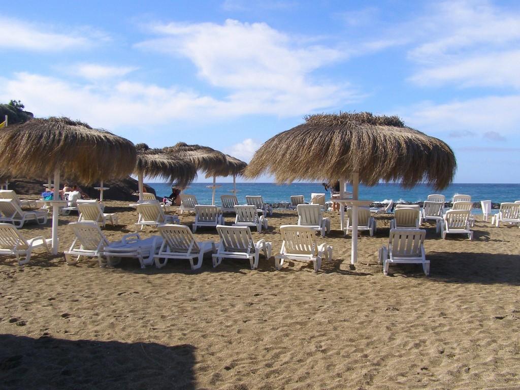 Tenerife tengerparti strand