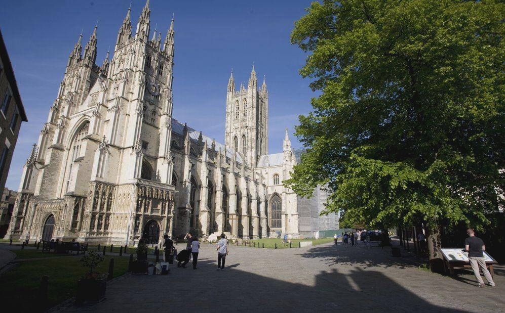 Canterbury katedrális templom