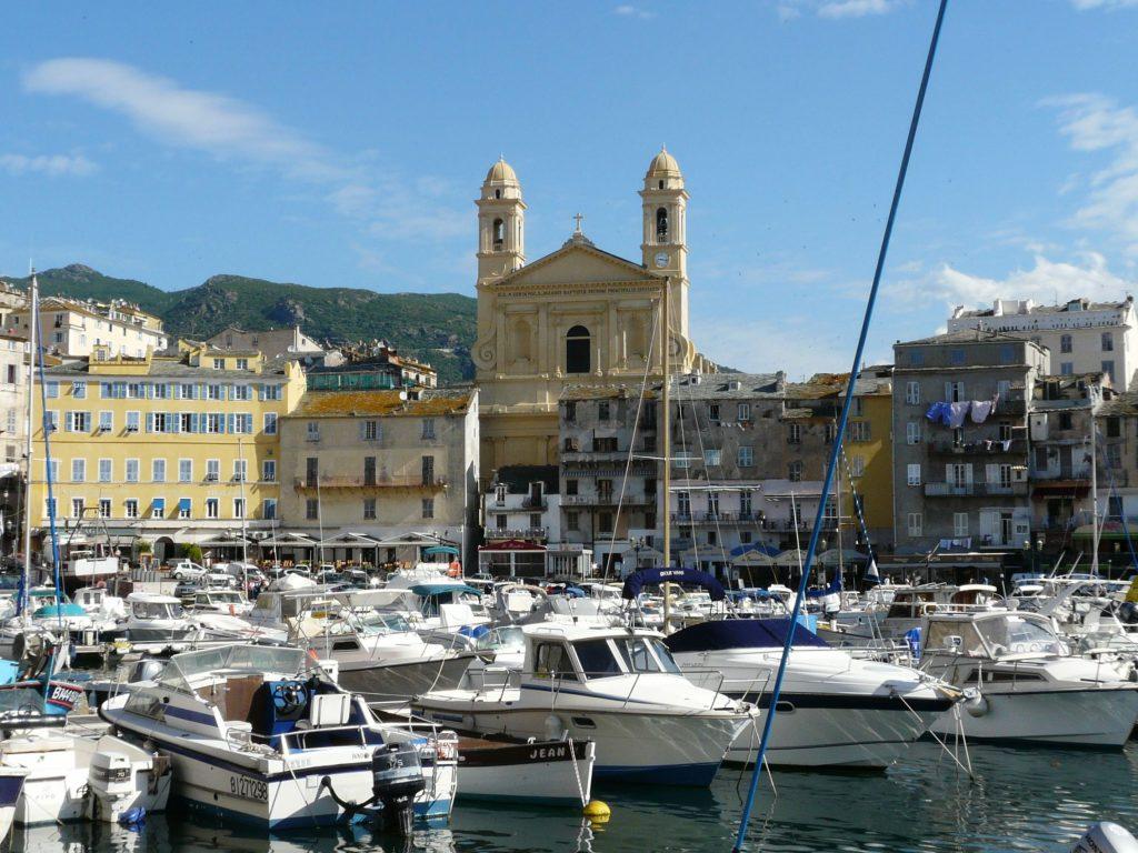 Bastia kikötő
